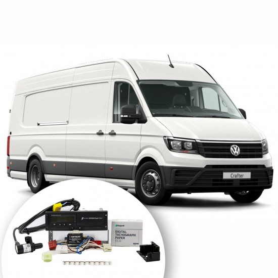 Kit of digital tachograph for Volkswagen CRAFTER