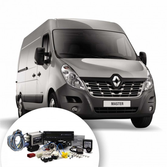 Kit of digital tachograph for Renault MASTER  rear drive