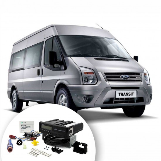 Kit of digital tachograph for Ford TRANSIT