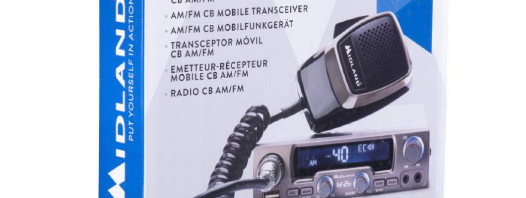 Review of the radio station MIDLAND M-20