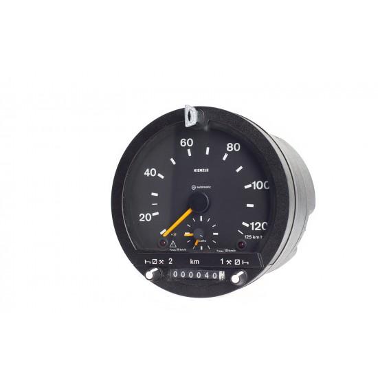Analogue Tachograph Kienzle 1318, 12V, 125 km/h, 2 drivers, old unit
