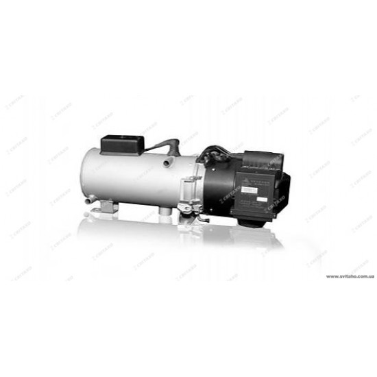 Liquid DBW 160 heater for buses