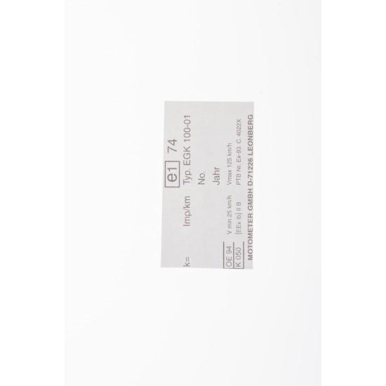 Type sticker EGK-100